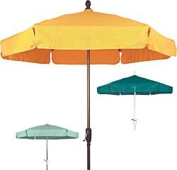 Fiberglass garden umbrellas