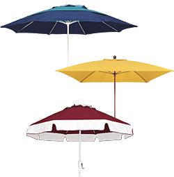 Octagonal market umbrella collection