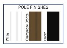 Octagonal pole colors