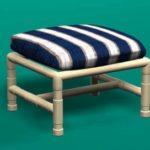 Classic ottoman footstool