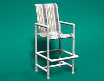 Item 117: Sling Bar Chair