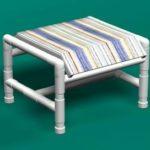 Sling ottoman footstool