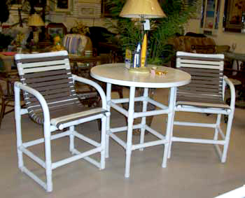 Pvc Strap Furniture For Your Patio Or Pool