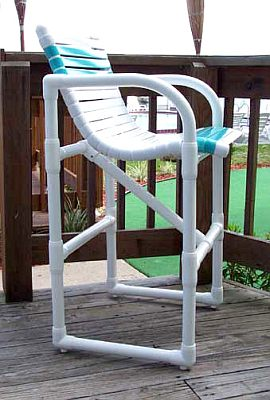 Outdoor Pvc Bar Furniture Pipefinepatiofurniture