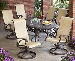 Sling Chair Patio Set