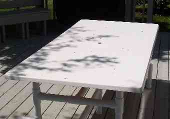 Fiberglass Outdoor Tables And Bars With Pvc Bases