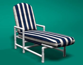 Bon Classic Chaise Lounge Chair
